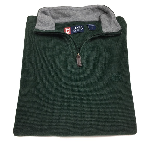 Chaps Other - Men's Chaps Zipup Pullover